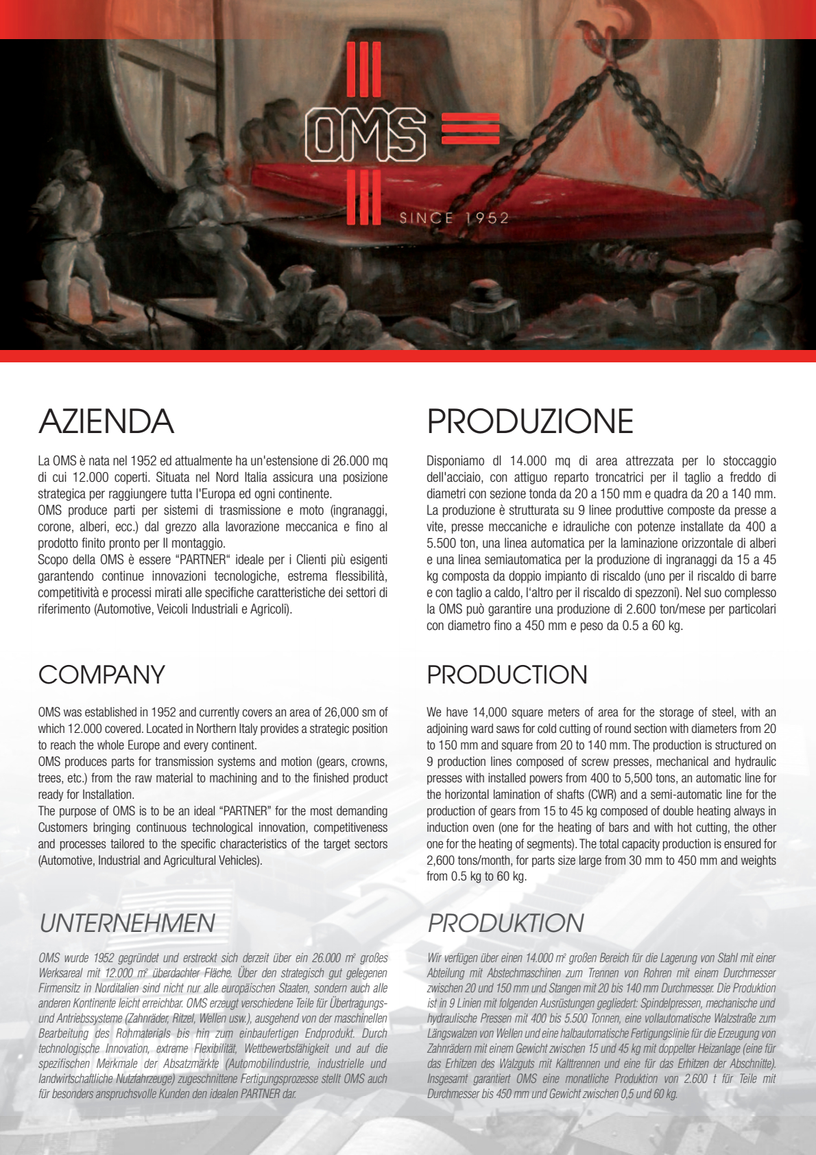 Brochure OMS SpA - pag 1